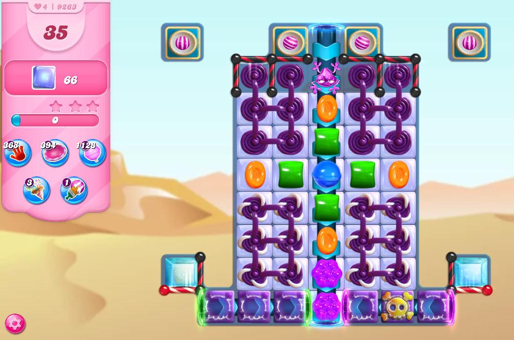 Candy Crush Saga level 9263