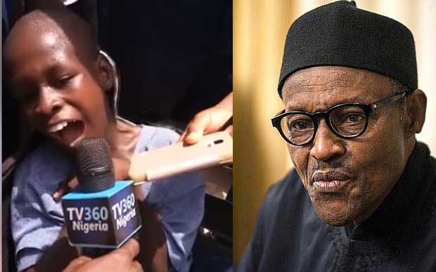 "See student with down syndrome who said ""I want to be president of Nigeria"""