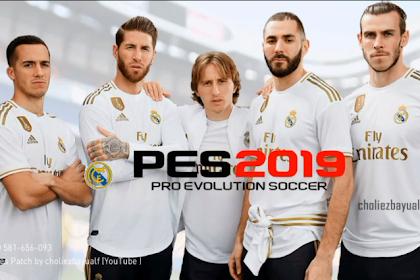 PATCH PES 2019 MOBILE REAL MADRID V3.3.1 Kits 2020 Bayualf