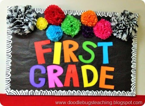 3 easy ways to make your classroom bulletin boards or classroom door stand out!  Easy decorating ideas!