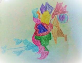"""""""Kiko's abstract creation-heart hearty heart"""""""