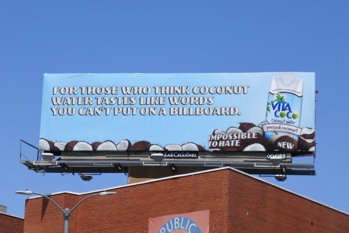 Vita Coco words you cant put on billboard