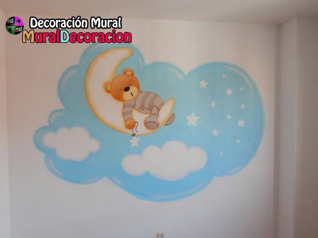 murales_decorativos_ositos_dormitorio_bebé_valladolid_madrid