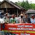 Bersama Komunitas Offroader, Polda Kalsel Bantu Masyarakat Terdampak Covid-19