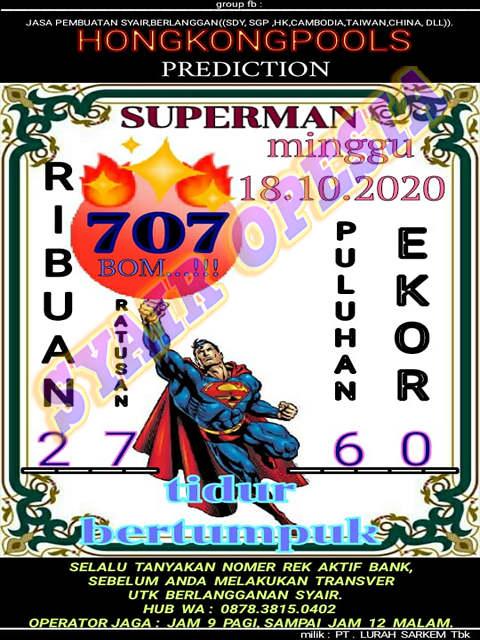 Kode syair Hongkong Minggu 18 Oktober 2020 133