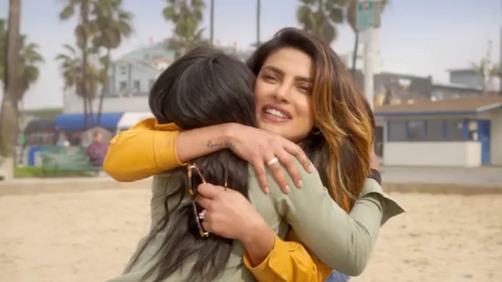 Simone Biles in Priyanka Chopra's YouTube show