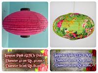 Lampion Pipih (UFO)
