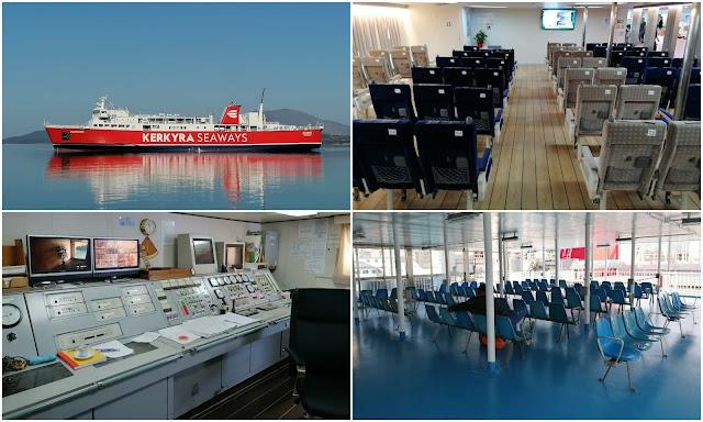 """Παρθενικό ταξίδι για το νέο πλοίο """"ΕΡΜΗΣ"""" στη γραμμή Ηγουμενίτσα – Κέρκυρα (ΦΩΤΟ+ΒΙΝΤΕΟ)"""