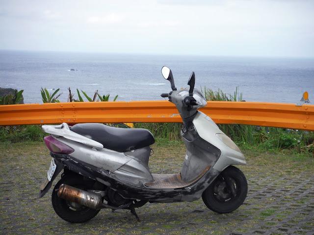 scooter moto green island taiwan