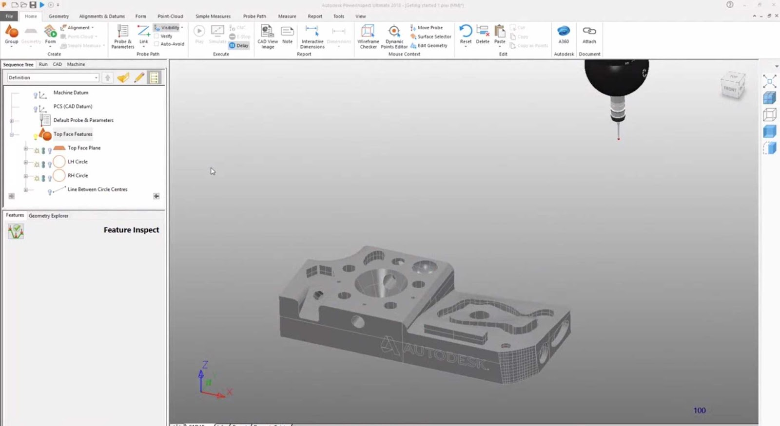 Autodesk PowerInspect Ultimate 2021 capture