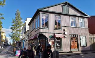 Reykjavík. Calle Laugaveugr.