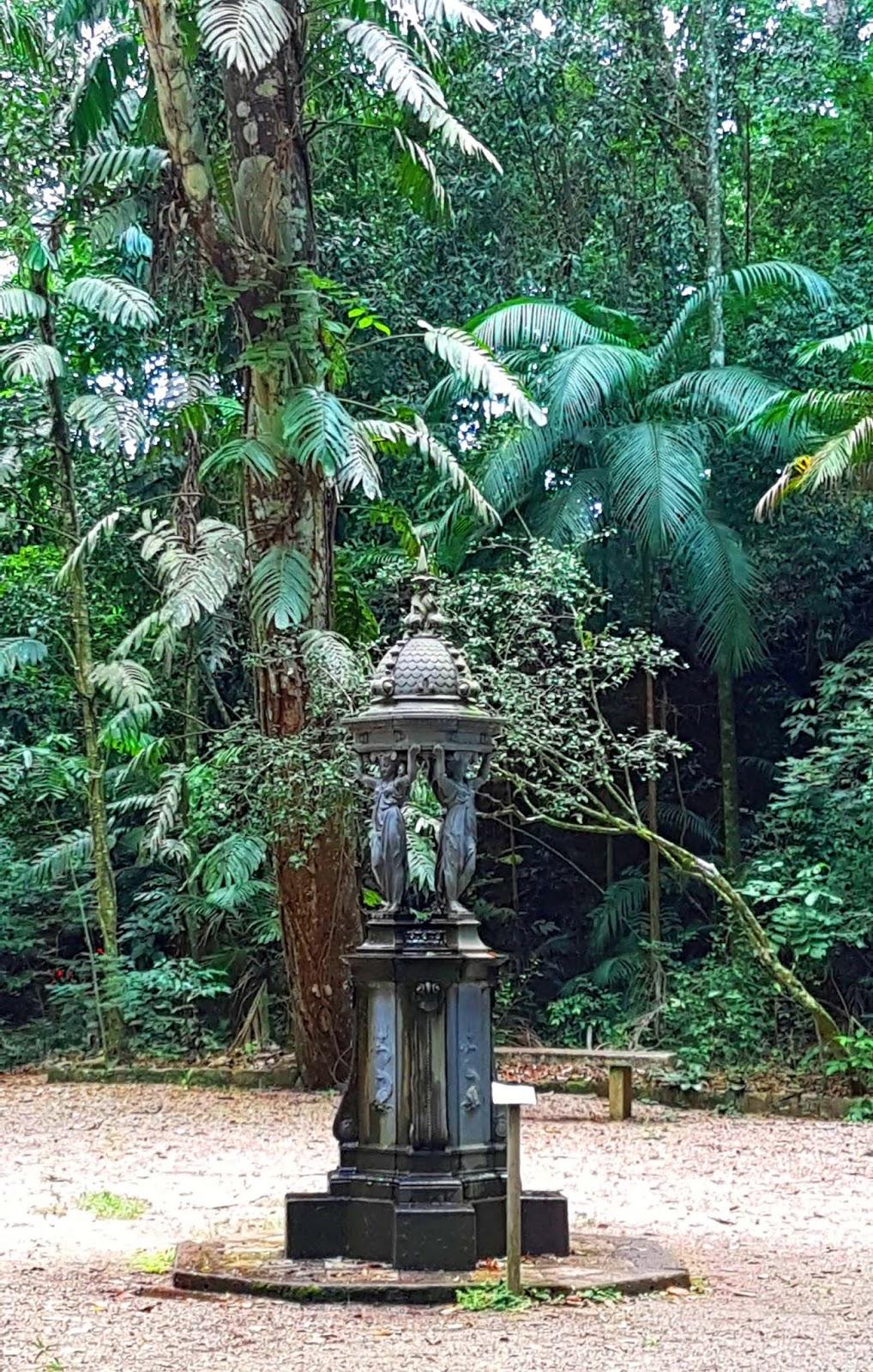 Fonte Wallace no Jardim dos Manacás.
