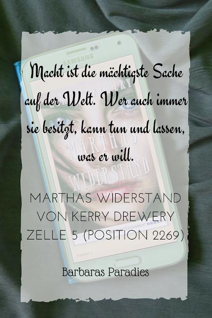 Buchrezension #131 Marthas Widerstand von Kerry Drewery