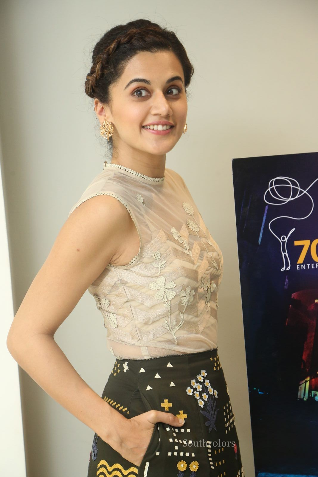 taapsee pannu stills at anando brahma trailer launch southcolors%2B%252814%2529