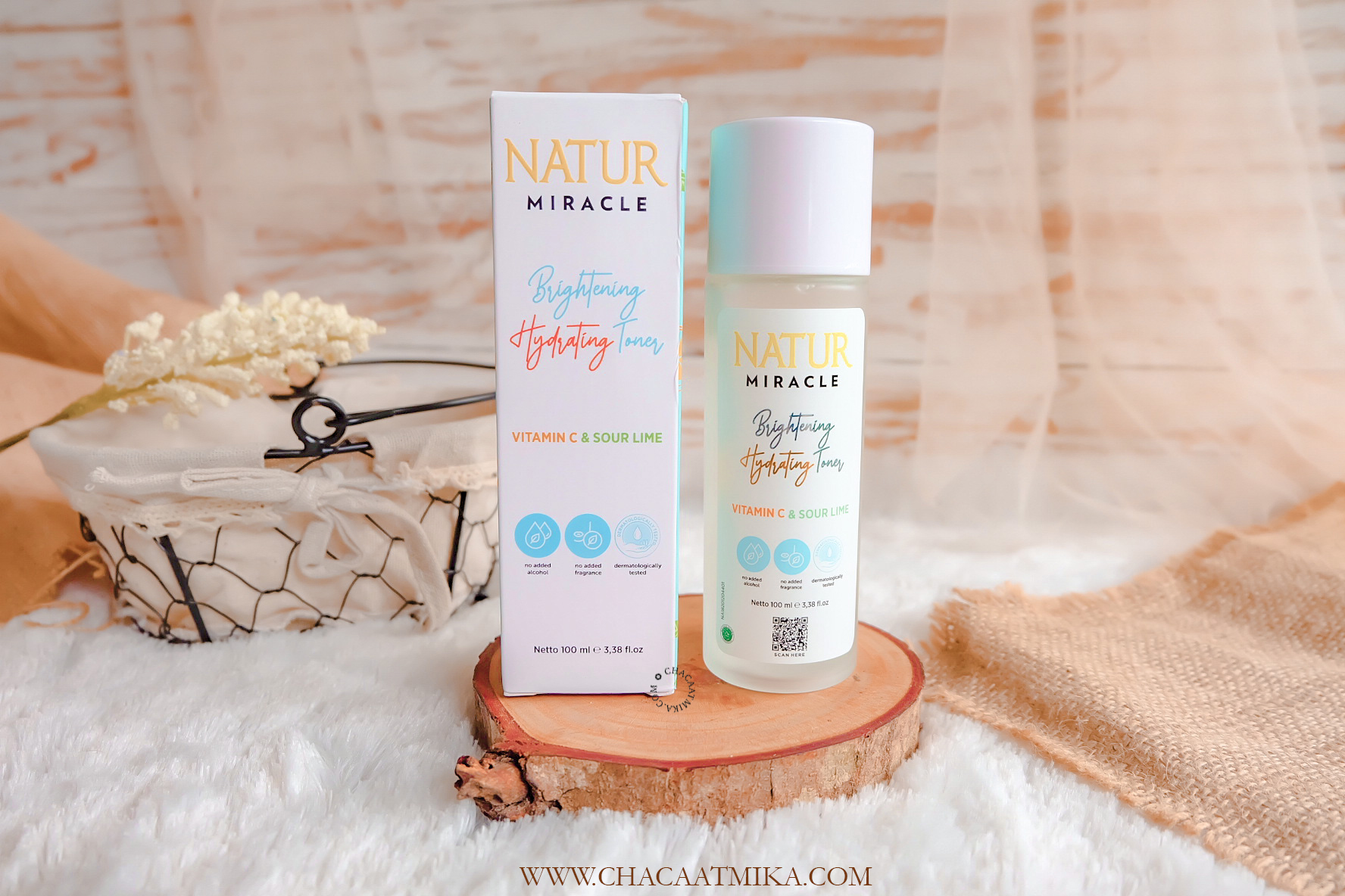 Review Natur Miracle Brightening Hydrating Toner
