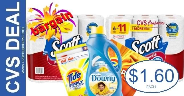 CVS Deal on Scott Paper Towels 7-25-7-31