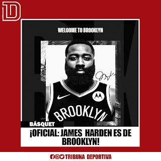 ¡OFICIAL: JAMES HARDEN ES DE BROOKLYN! ⛹🏽