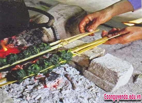 Rêu nướng