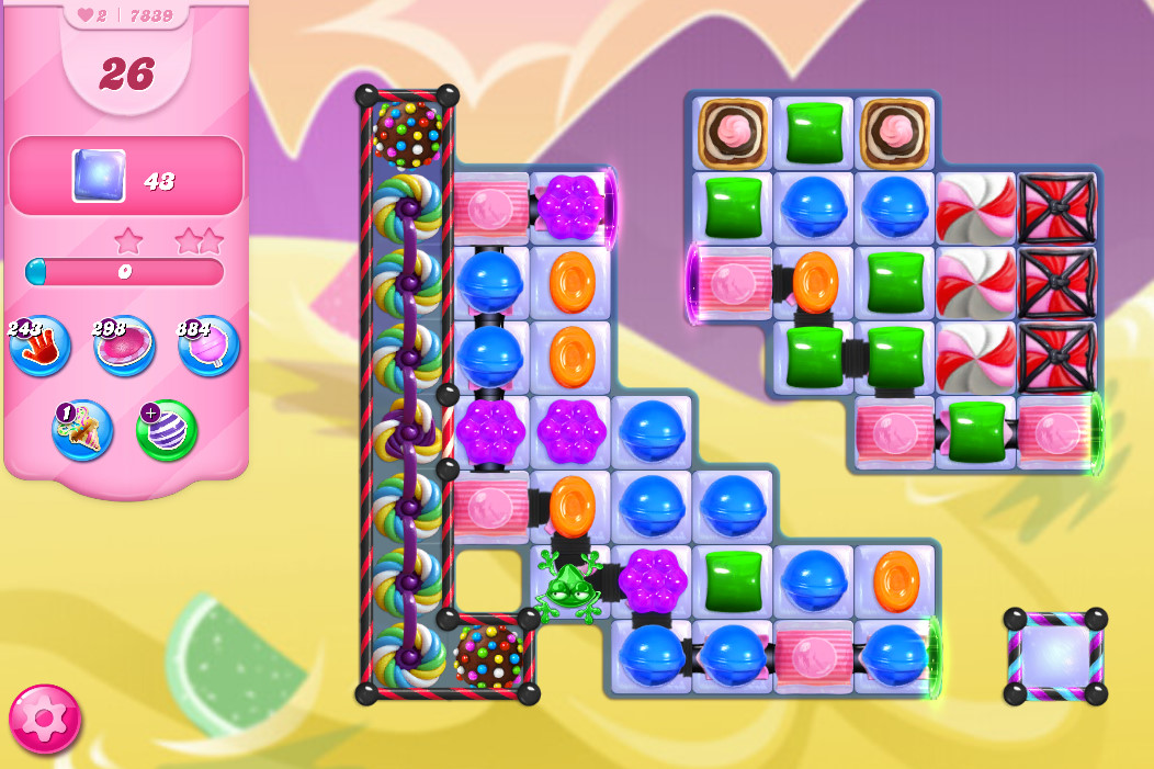 Candy Crush Saga level 7839