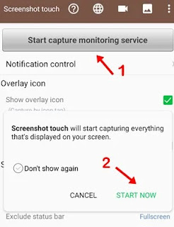 first click start capture monitoring service and click start nowfirst click start capture monitoring service and click start now