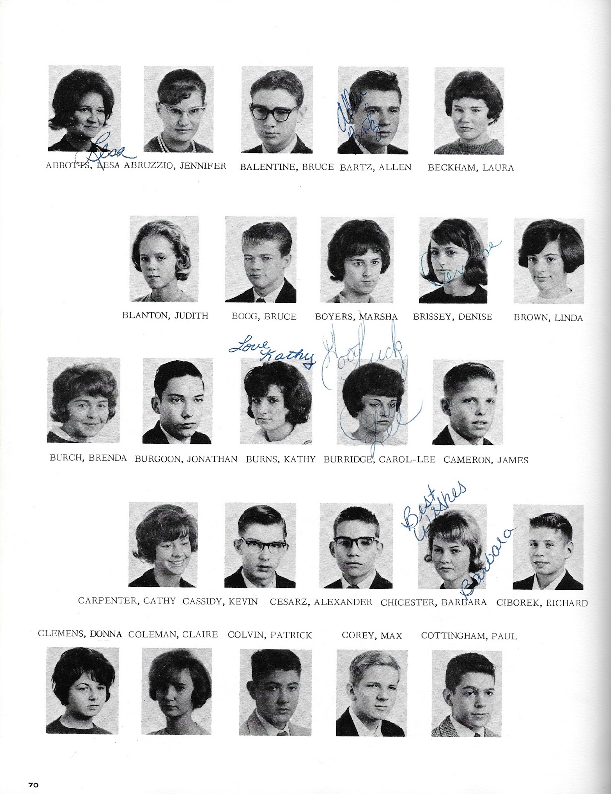 1964 Yamato High School Japan Yearbook