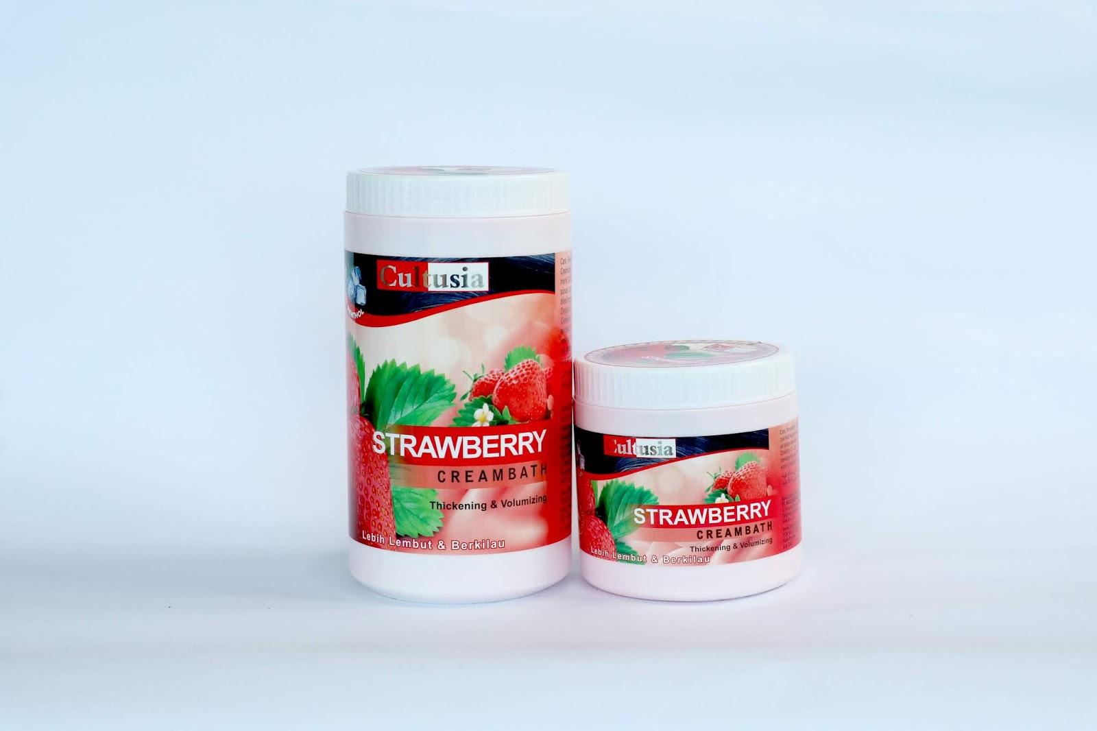 Rudy Hizkia Manfaat Cultusia Creambath Strawberry