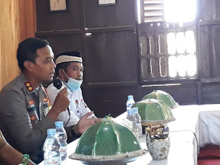 Jaga Kamtibmas Jelang Pilkada, Kapolres Pangkep Silaturahmi Dengan Tokoh Masyarakat
