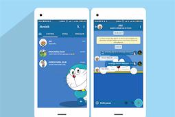 Download Tema Whatsapp Doraemon Lucu dan Imut