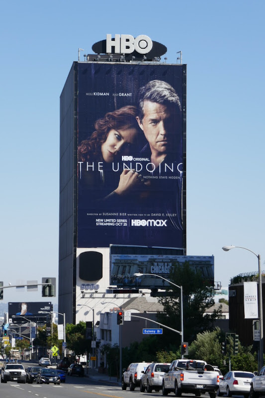 Undoing giant HBO series billboard