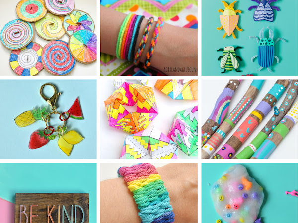 50+ Arts, Crafts and Activities to do with Kids