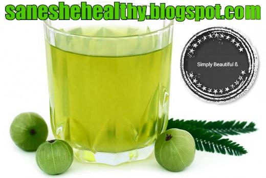 Health benefits of amla juice.