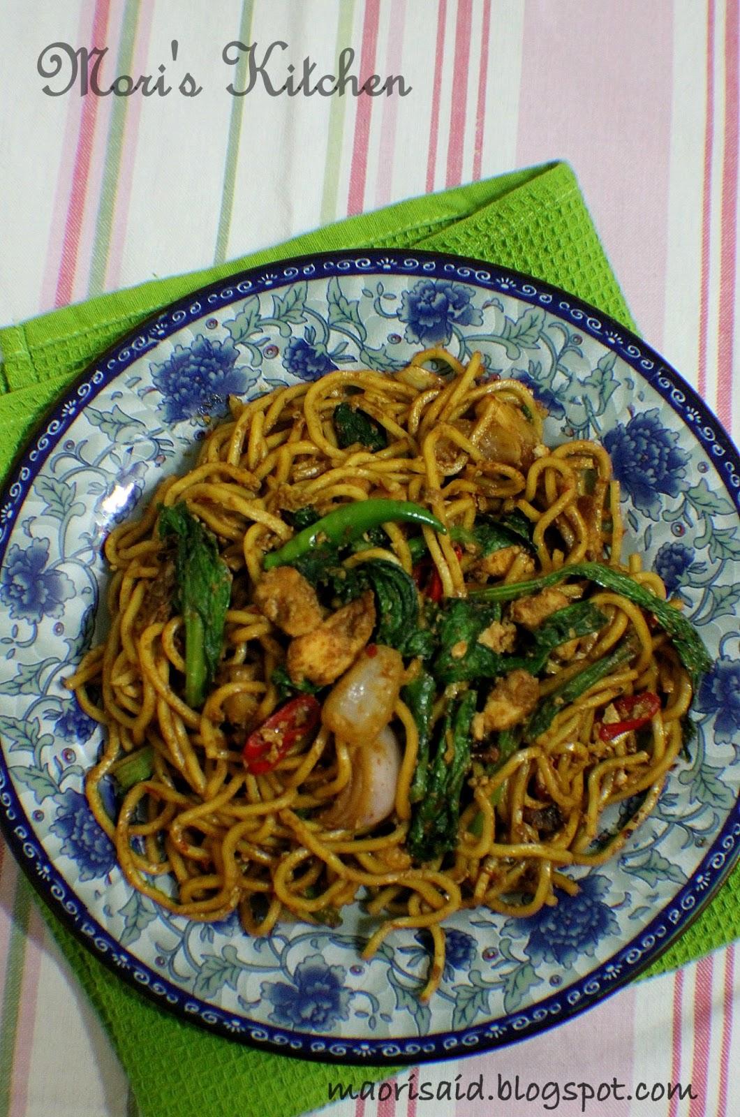 Mori's Kitchen: Mee Goreng kering jer for dinner