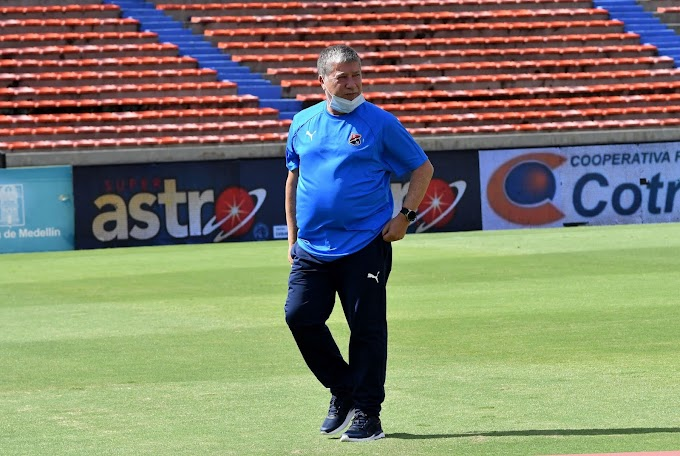 ¿Será definitivo? 'Bolillo' Gómez no aguantó más y renunció a la dirección técnica del Independiente Medellín, pero aún no es fija su salida