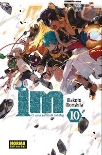 """Reseña de """"Im ~ El Sumo Sacerdote Imhotep"""" (Im~イム~) vols. 9 y 10 de Makoto Morishita - Norma Editorial"""