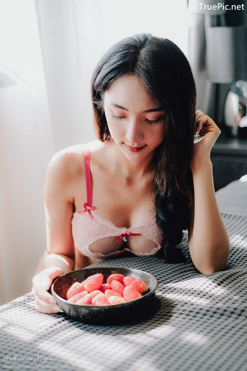 Image Thailand Model - Piyatida Rotjutharak - Strawberry Girl - TruePic.net - Picture-5