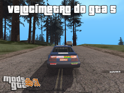 Velocímetro do GTA 5 para GTA San Andreas