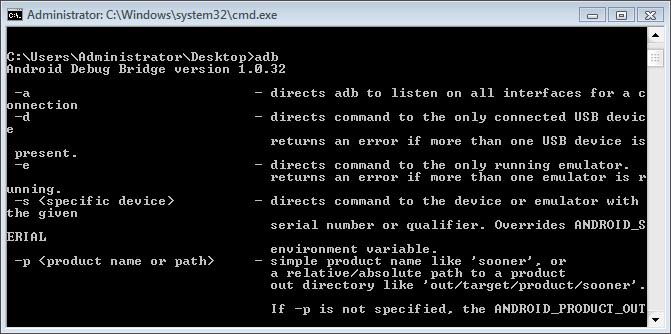 Hướng dẫn] Sử dụng Lệnh ADB FASTBOOT cho thiết bị Android ~ LGV