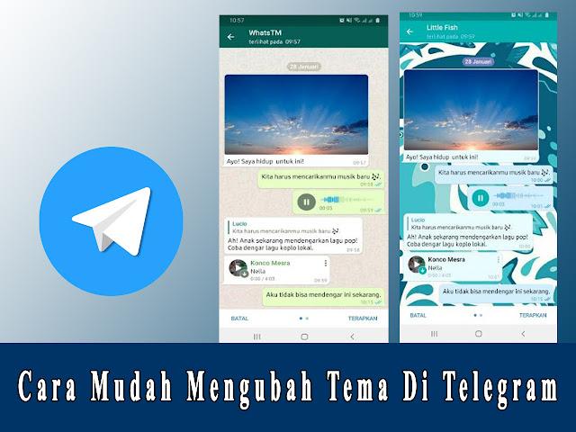merubah tema telegram