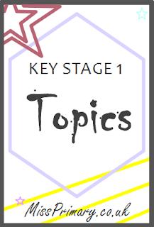 Topics for primary school key stage 1