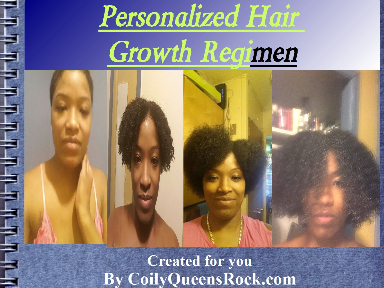 Coilyqueens Your Own Personalized Hair Growth Regimen
