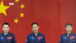 china astronaut, astronot, tianhe, spacewalk, antariksa