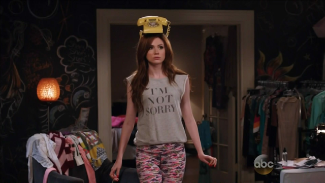 Here we see Karen Gillan auditioning for a much-downsized new version of Beach Blanket Babylon.