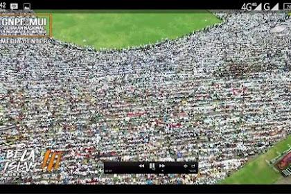 Duhai Allah Saksikanlah Kami Datang Dan Bersatu Membela Agama. Merinding : Foto-foto Jutaan Ummat Aksi Damai Dari Segala Penjuru
