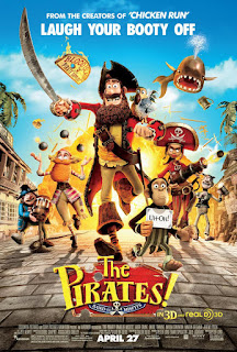 The Pirates! Band of Misfits (2012) 720p
