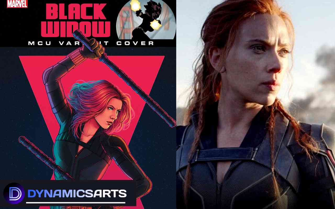 Marvel Reveals New Black Widow MCU Variant Covers