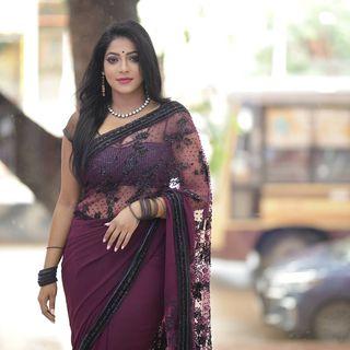 Actress Reshma Pasupuleti Latest Photos in Saree