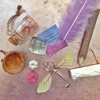 Fairy Spell writing kit