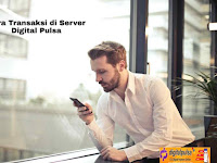 Cara Transaksi di Server Digital Pulsa