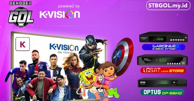 Paket K Vision GOL Terbaru (STB GOL)