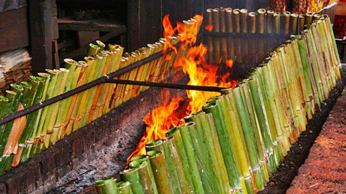 memasak di bambu momasa di buluh